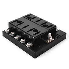 iztoss f428 10 z 10 way car boat fuse block w fuses terminals iztoss f428 10 z 10 way car boat fuse block w fuses terminals black