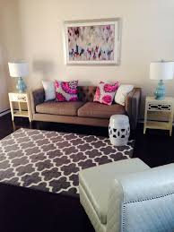 Cute furniture in a small living room