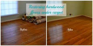 hardwood before after