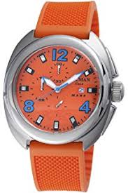 amazon com locman amazon exclusive men s 201slkvl quartz stealth locman men s 130or mare collection titanium watch