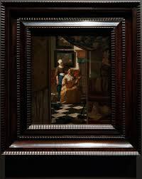 Amsterdam Rijksmuseum 1885 The Gallery of Honour 1st Floor The Love Letter 1669 70 by Johannes Vermeer