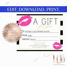 blank gift certificate template free unique free travel gift certificate template
