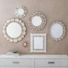 beautiful mirror collage with mirror collage