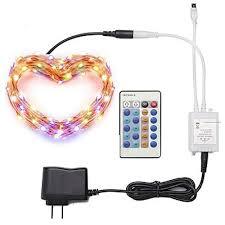 <b>ZDM</b>® <b>10m</b> Light Sets <b>100 LEDs</b> SMD 0603 1 24Keys Remote ...