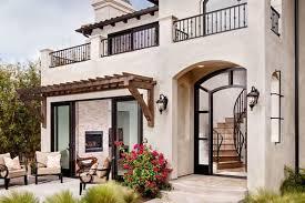mediterranean exterior home design ideas remodels photos small