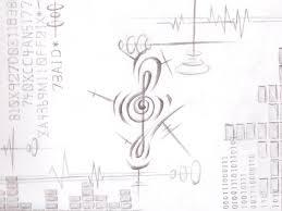 手描き背景素材 02 電子音 けいちゃn背景曲絵屋 さんのイラスト