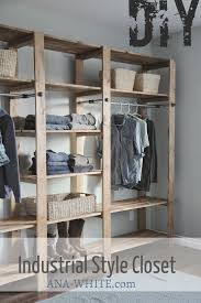 diy industrial closet plans jpg