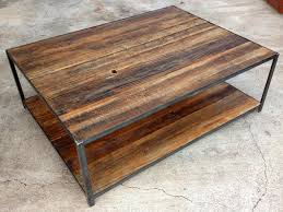 Rustic Wooden Coffee Tables Diy Reclaimed Wood Coffee Table Ideas Interior Exterior Design