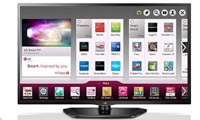 lg tv screen. previous smart tvs made by the company were a lot more confusing. lg tv screen