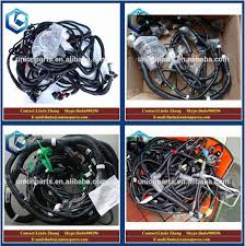 genuine pc300lc pc300 6 external wiring harness excavator cabin genuine pc300lc pc300 6 external wiring harness excavator cabin main electric cable wire harness assy