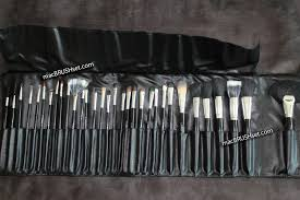 2016 professional mac brush set 32 pcs in pink