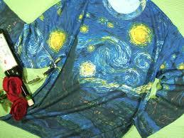painting van gogh long sleeve t shirt t shirt men s long sleeve print t shirt