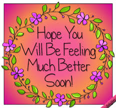 Image result for feel better pic