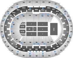 staple center seating chart concert end staples center