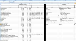 cost spreadsheet for building a house excel spreadsheet templates expenses home plans blueprints 73899