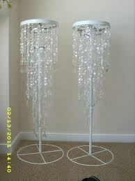 chandelier stands lit wedding chandelier stands luxury crystal iridescent beaded chandelier and stand wedding bling hanging