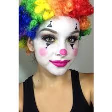 Schminke clowngesicht