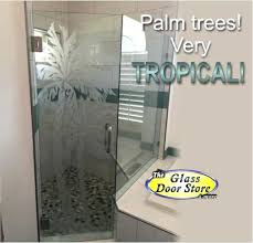 etched shower door etched double palm on shower door with etched shower door frosted shower door etched shower door etched shower doors etched glass
