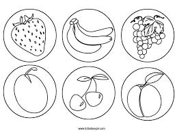 Fresco Tutto Disegni Frutta Estate Da Colorare Migliori Pagine Da