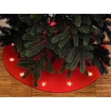 Led Weihnachtsbaumunterlage 13 Warmweiße Leds Innen