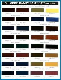 Hok Paint Color Chart Pagan Gold Kandy B C 8 Oz 1 2 Pt House Of Kolor Full Strength