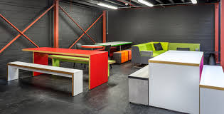 stylish office furniture. Spaceist Showroom Red Canteen Tables Stylish Office Furniture K