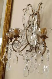 enthralling 138 best sconces images on lights wall pertaining to crystal for candles decorations 2