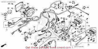 honda trx350 fourtrax 1992 n sul wire harness buy wire view large image
