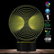 3D Thị Giác Đèn Ảo Ảnh Quang Học Ban Đêm Ligh Nghệ Thuật Của Ánh Sáng Nghệ  Thuật Đèn LED Phát Sáng Để Bàn Ma Thuật Chiếu Sáng Trang Trí Bàn đèn