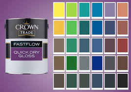Crown Trade Colour Collection Colour Chart Crown Trade Fastflow Now Brings Colour To The Mix