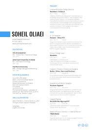 Where To Get A Resume Made Resume Soheil Oliaei