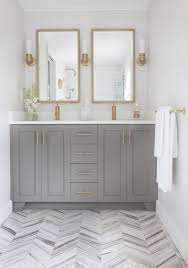 gray cabinet colors. Modren Gray Vanity Painted With Chelsea Gray Benjamin Moore Elements Of Style Throughout Cabinet Colors N