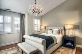 modern bedroom chandelier mid century modern bedroom bedroom transitional with asymmetrical crystal chandelier dry image by