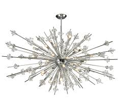 snowflake collection 31 light extra large contemporary chandelier