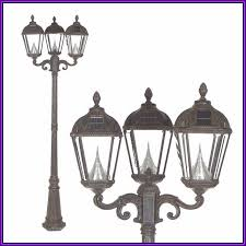solar lamp post home depot canada