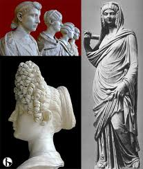 Ancient Roman Hair Style fashion in ancient rome roman roads media 8084 by wearticles.com