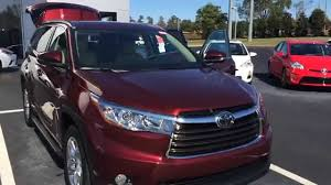 Kathy's 2015 Toyota Highlander Limited Platinum by Gerald - YouTube