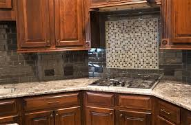Granite Countertops With Backsplash Beauteous Custom Granite Countertops Trimmed In With Custom Cabinet Pieces