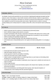 Canada Resume Template Resume Template For High School Students Canada Templates