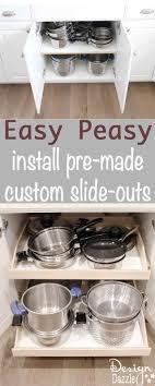 Kitchen Storage Shelves Ideas Best 25 Sliding Shelves Ideas On Pinterest Slide Out Pantry