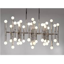 Natural lighting futura lofts Ellum Lofts Meurice Rectangle Chandelier Pinterest Meurice Rectangle Nickel Chandelier Modern Chandeliers Jonathan
