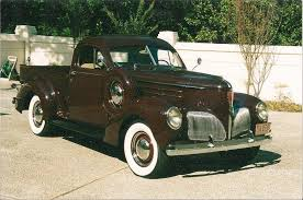 1939 Studebaker Coupe Express Pickup | Studebaker Truck Pictures