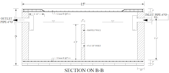 Septic Tank Design 3 Chambers Civil At Work Design Of Septic Tank And Water Reservoir