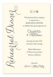 Invitation Wording For Dinner Everyday Charm Rehearsal Dinner Invitations Dinner