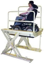 Wheelchair Assistance Wheelchair Lift For Stairs - Exterior wheelchair lifts