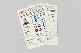 Graphic Designer Resume Mesmerizing 28 EyeCatching Graphic Designer Resumes HOW Design