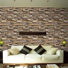 waterproof stone brick wall sticker self adhesive wallpaper home decor wall art decal living room bedroom bathroom kitchen decor es
