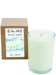 wax candle beach house natural soy wax candle hand poured in small batches an artisan soy