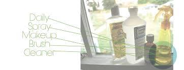 makeup brush cleaner spray. spray bottle makeup brush cleaner
