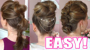 Occasion Hair Style 5 quick & easy hairstyles for any occasion youtube 3296 by wearticles.com